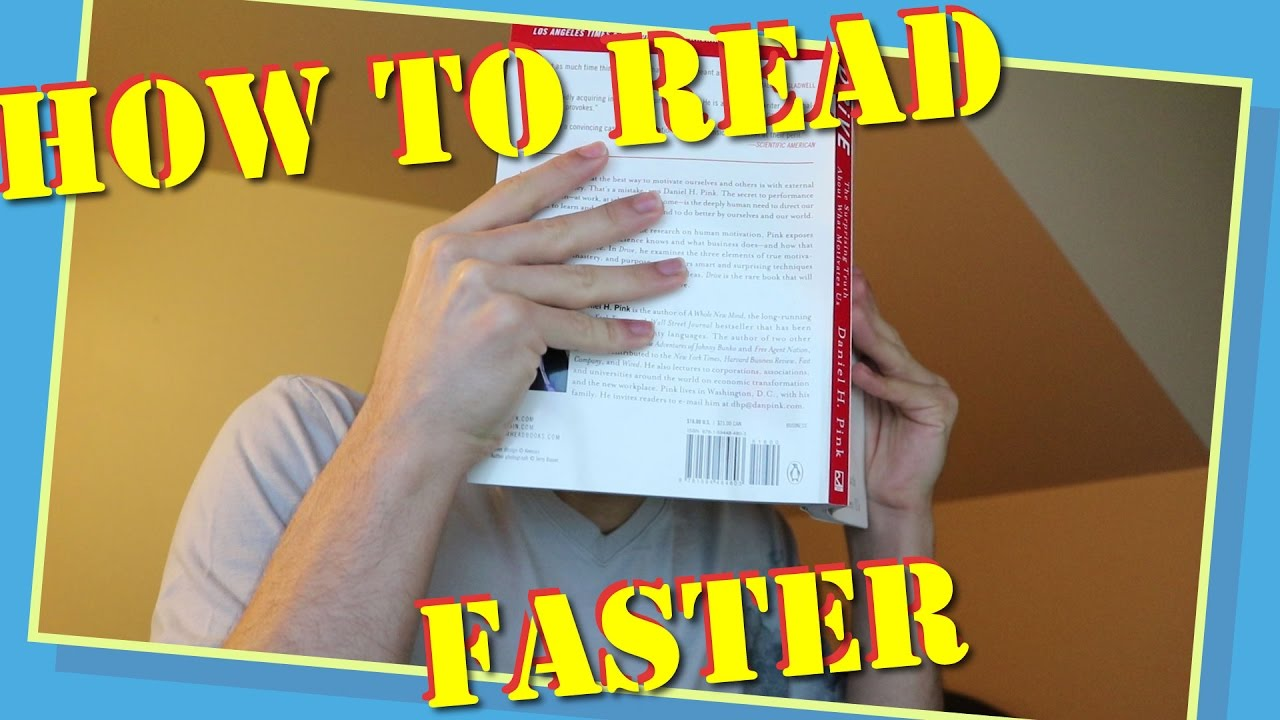 How to Read Faster and Retain More - Speed Reading Comprehension