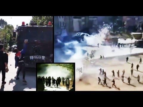 广东多地暴动,政府基本失控 543