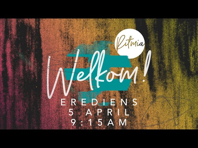 Palm Sondag | Maak Los | Ritmia Erediens - 5 April