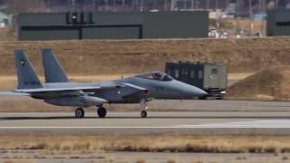 スクランブル発進の瞬間!航空自衛隊小松基地 Scramble start moment! Japan Air Self Defense Force Komatsu Air Base