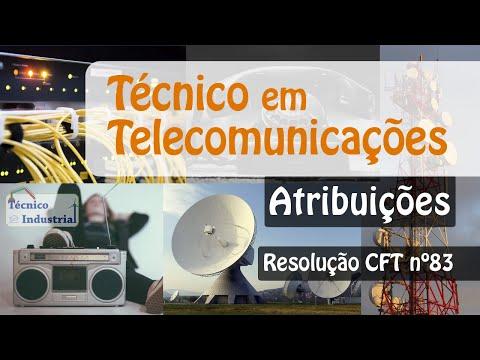Técnico Em Telecomunicações - Atribuições