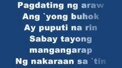 Kahit Maputi Na Ang Buhok ko(with Lyrics)