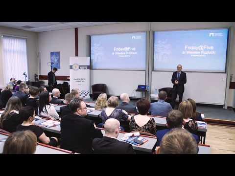 FridayFive dr Wieslaw Rozlucki ( Polish economist, co-founder of the Warsaw Stock Exchange )