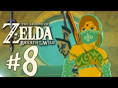 Zelda Breath of the Wild - Parte 8: Zeldinha Odalisca e Naboris [ Nintendo Switch - Playthrough ]