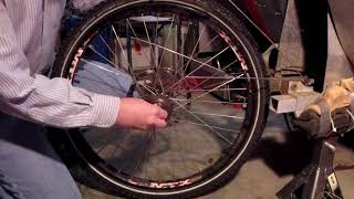 Rear Tire Removal And Freewheel Sprocket Replacement