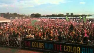 Color Run at Aviator Sports and Receation Center Brooklyn, NY Party Rock Edition