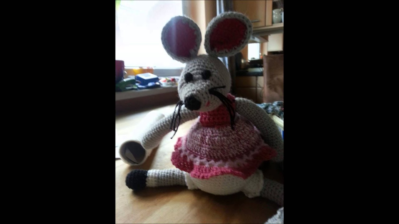 Crochet A Mouse Maus Häkeln Youtube