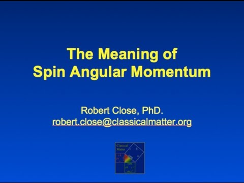 No-Nonsense Physics: The Meaning of Spin Angular Momentum