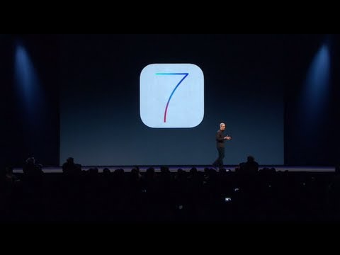 Apple WWDC 2013 - iOS 7 Introduction