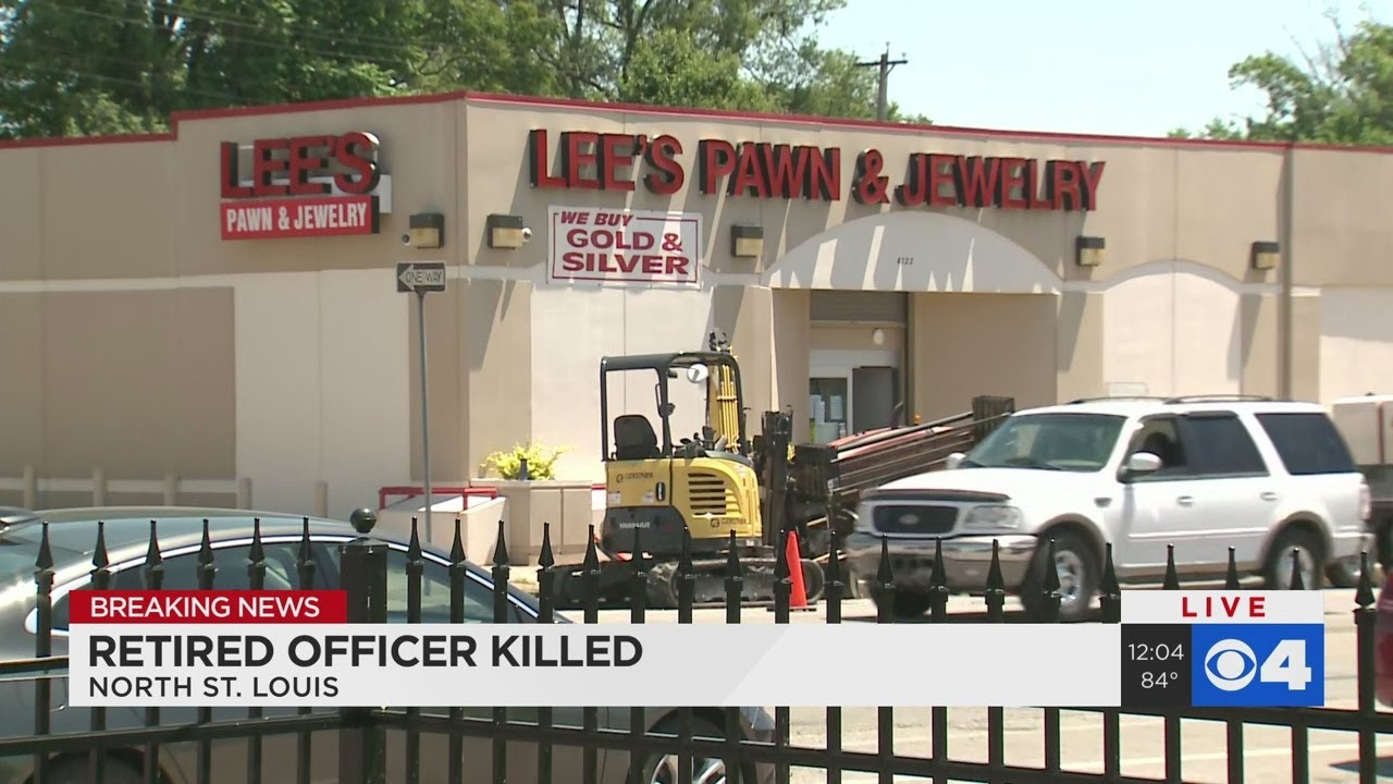 Retired police captain shot to death at St. Louis pawn shop in ...