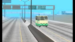 Ikarus 200 Series in Grand Theft Auto San Andreas Pt. II