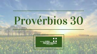 DEVOCIONAL PROVÉRBIOS 30