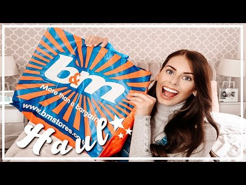 B&M HAUL | WHAT DID I BUY? | Chantelle Victoria ❤