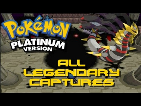 Pokemon Platinum: ALL Legendary Pokemon Locations!!!