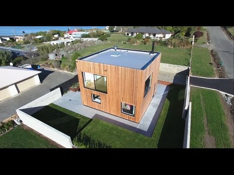 Modern Cube-shaped House Architecture Design Idea