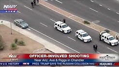 Officer-involved shooting scene near Arizona Avenue and Riggs Road in Chandler beginning (FNN)