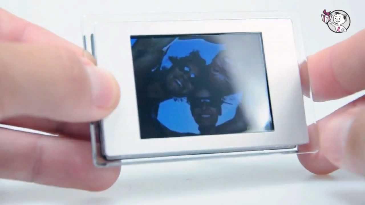 Marco Digital Magnético. Regalos Originales - YouTube
