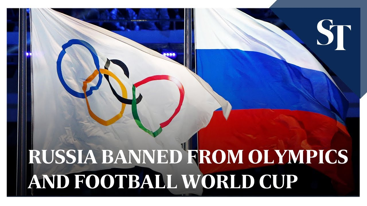Russia banned from 2020 Olympics and 2022 Football World ...