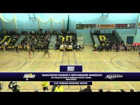 VNSL 2016 - Manchester Thunder v Hertfordshire Mavericks