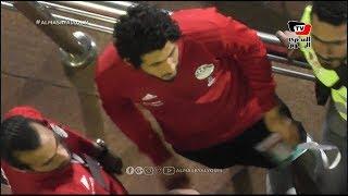 حجازي يتابع مباراة مصر ضد اسواتيني من المدرجات بعد تعرضه للإيقاف