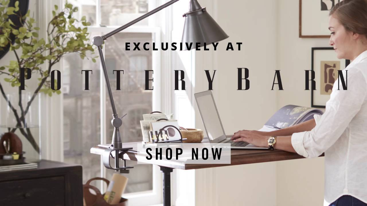 Introducing The Pittsburgh Crank Desk By Pottery Barn