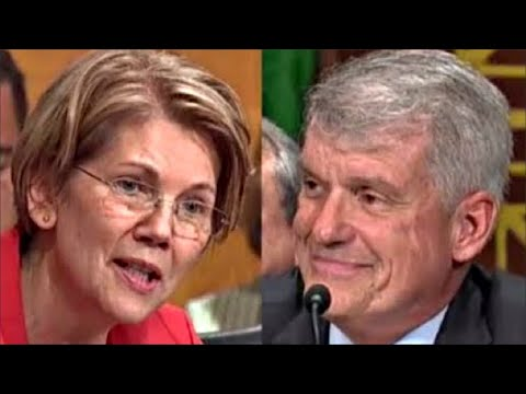 Elizabeth Warren WipesSmirk off Wells Fargo CEO