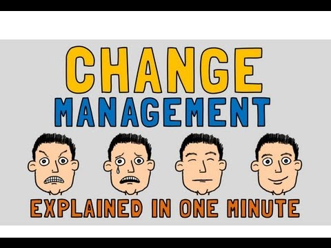 Change Management Explained In Minute