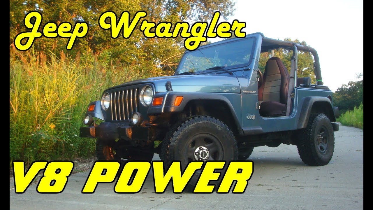 Stuffing A 5 2l V8 Into A Jeep Wrangler Project Introduction