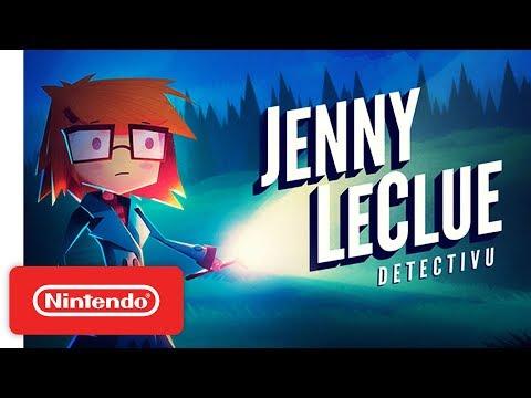 Jenny LeClue - Detectivu - Announcement Trailer - Nintendo Switch