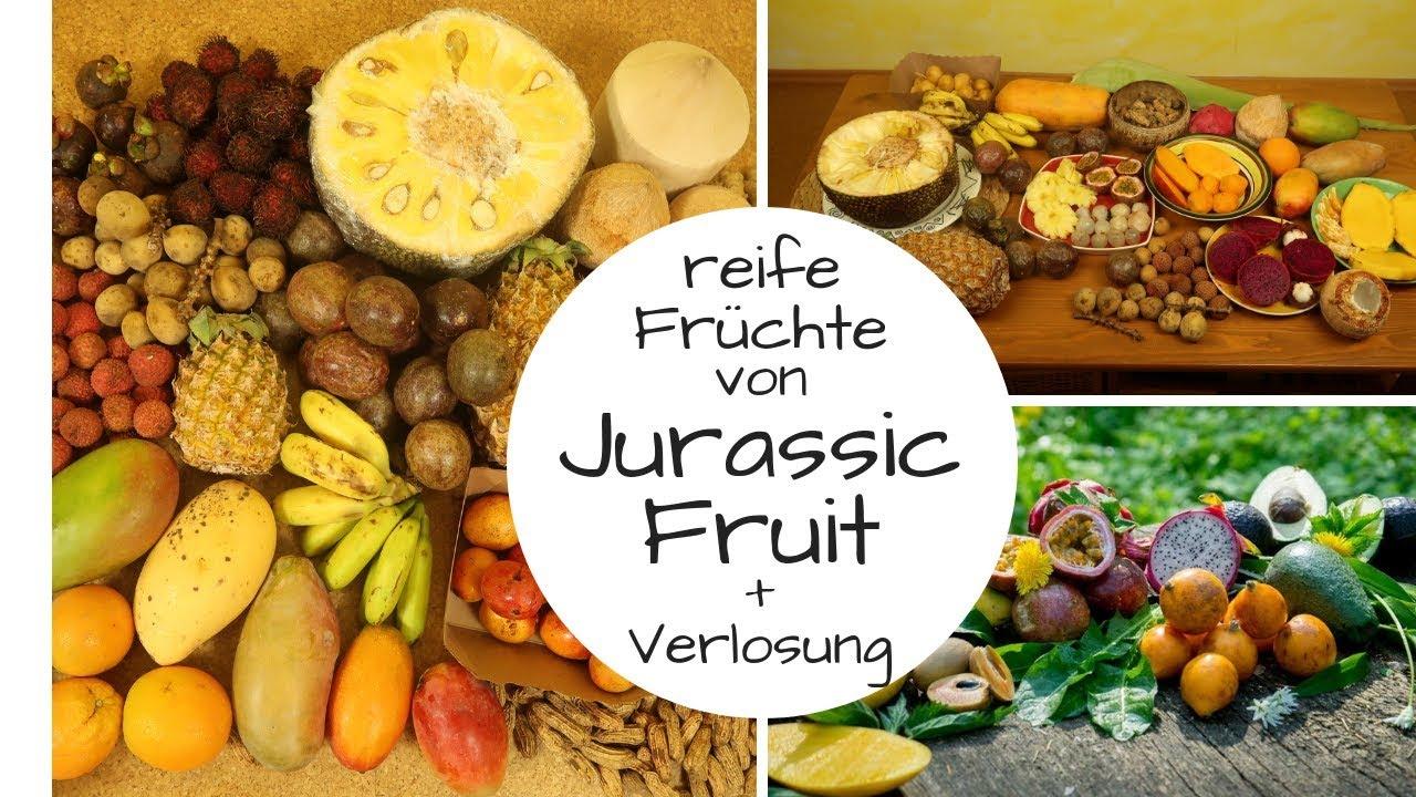So essen wir REIFE Früchte von Jurassic Fruit! + Verlosung!