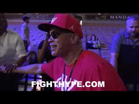 VIRGIL HUNTER IMMEDIATE REACTION TO ANDRE WARD'S KNOCKOUT OF KOVALEV; EXPLAINS KEY TO VICTORY