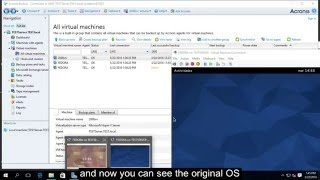 ACRONIS 11.7 RECOVERY VM FROM WIN SERVER 2016 HYPER -V  Technical Preview 4 -ENGLISH SUBTITLE-