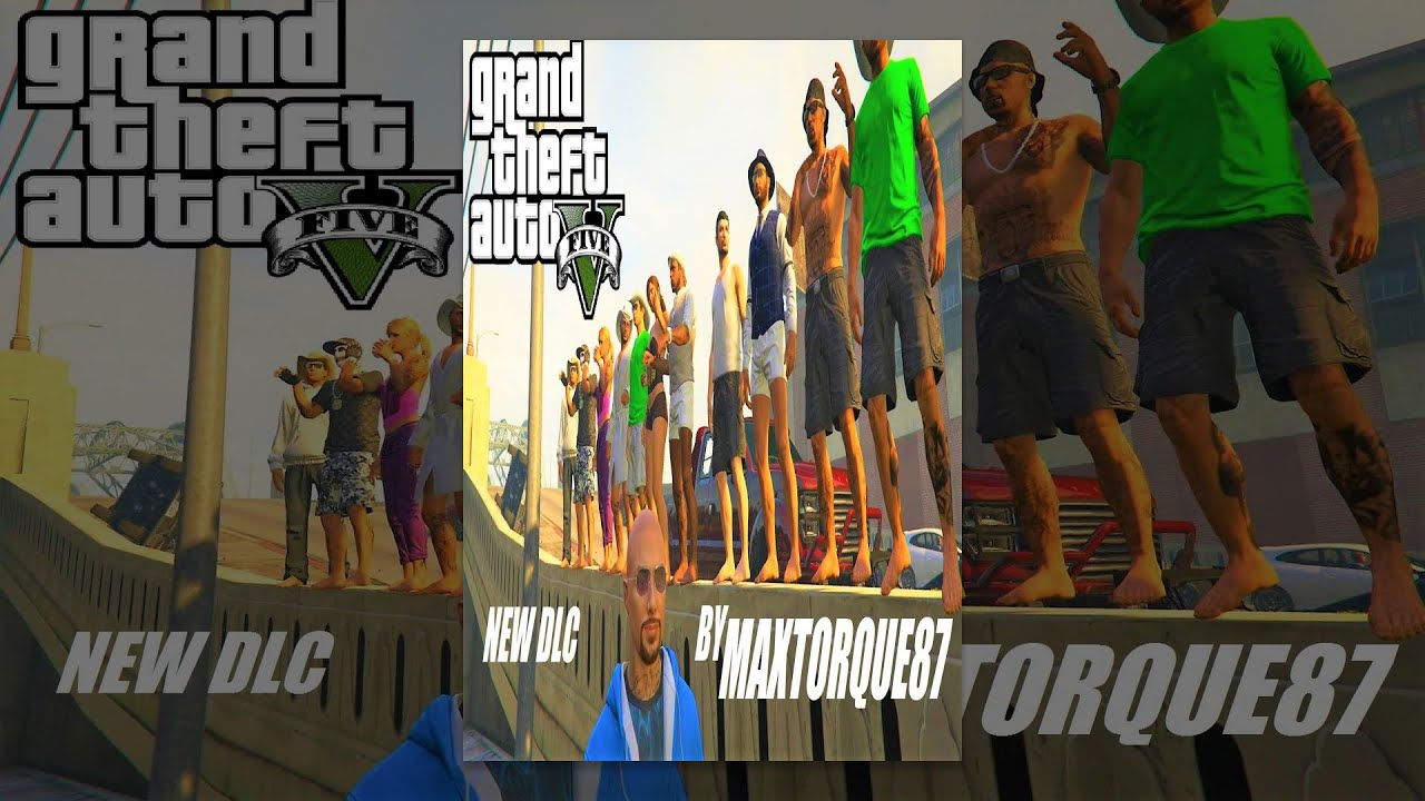 GTA 5 : WORLD PREMIER DLC by MAXTORQUE87 - NAKED FOOT RACING - PS4 - LIVE