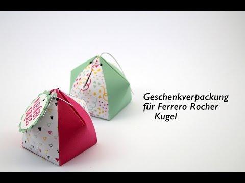 Extrem Rocher Geschenkbox selber basteln, heute das Anleitungs Video VP52