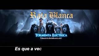 Rata Blanca -  Pequeño angel oscuro (Letra)