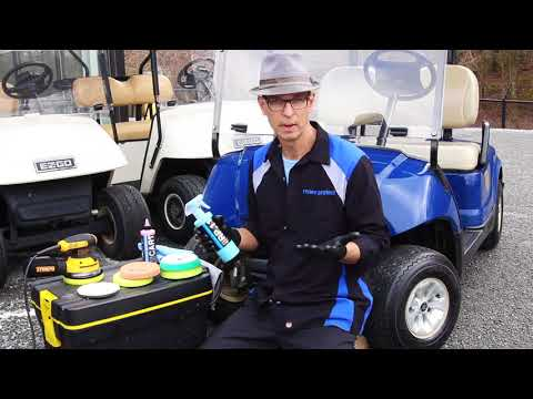 How To: Golf Cart Detailing  Permenant Renewal, Body, Plasitc, Rubber, Windshield