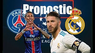 PSG - REAL MADRID ⏩ MON PRONO 🔴🔵