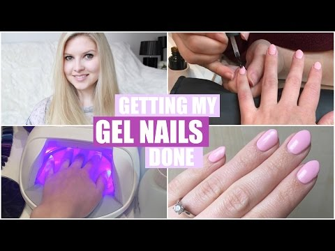 Getting My Gel Nails Done & Shellac Experience | Chyaz