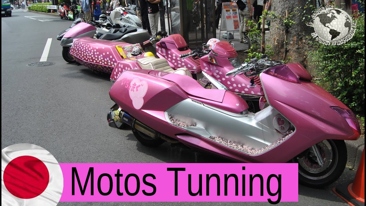 Motos Tunnig Motorcycle Tunning Tokio Japan Japon 2012 Youtube
