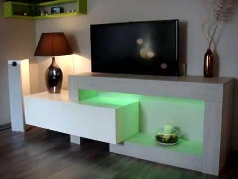 ibermat meuble 39 pop up 39 tv doovi. Black Bedroom Furniture Sets. Home Design Ideas
