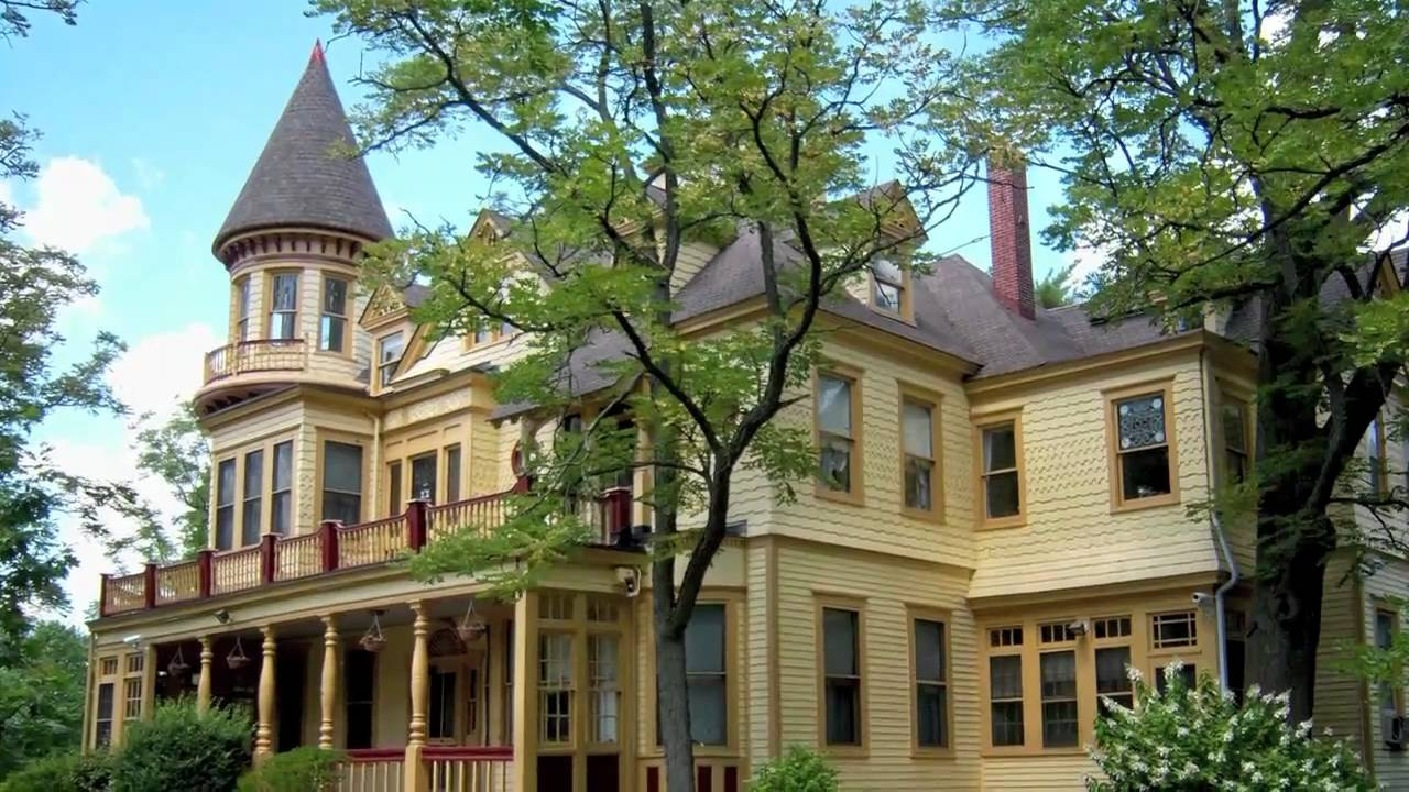 Kuser Farm Mansion In Hamilton, NJ - YouTube