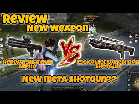 Review KSG CE Vs Red Dot Shotgun Alpha/ New Meta Shot Gun Is Back??   Lifeafter Indonesia