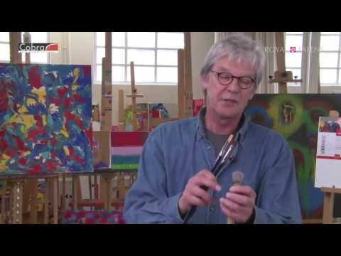 Painting Masterclass | Cobra Water Mixable Oils | Lesson 5 - Sketching a Painting
