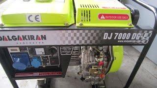 Ремонт и обслуживание дизельного генератора Dalgakiran/Далгакиран Dj7000DG-E(, 2016-04-21T04:59:25.000Z)
