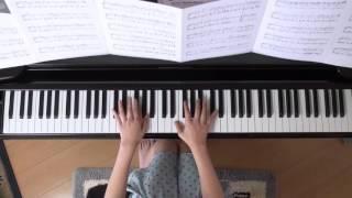 2015年10月25日 録画、 使用楽譜;月刊ピアノ2015年11月号.