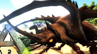 ARK Survival Evolved - EPIC BEETLE MONSTER, AUSTRORAPTOR ADDED & WORLDS BIGGEST CROCODILE - Gameplay