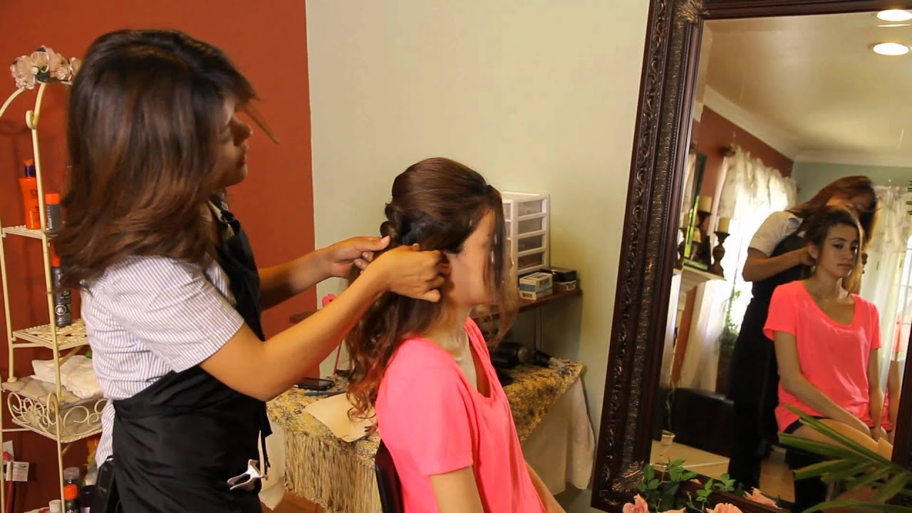Debutante Hairstyles With Tiaras Tress To Impress Youtube
