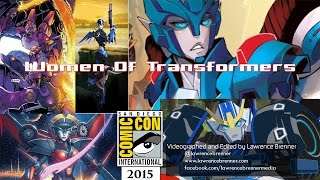 Women of Transformers at SDCC 2015