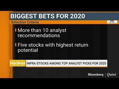 Infra Stocks Among Top Analyst Picks For 2020