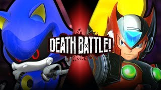 Metal Sonic VS Zero (Sonic VS Mega Man) | DEATH BATTLE! thumbnail